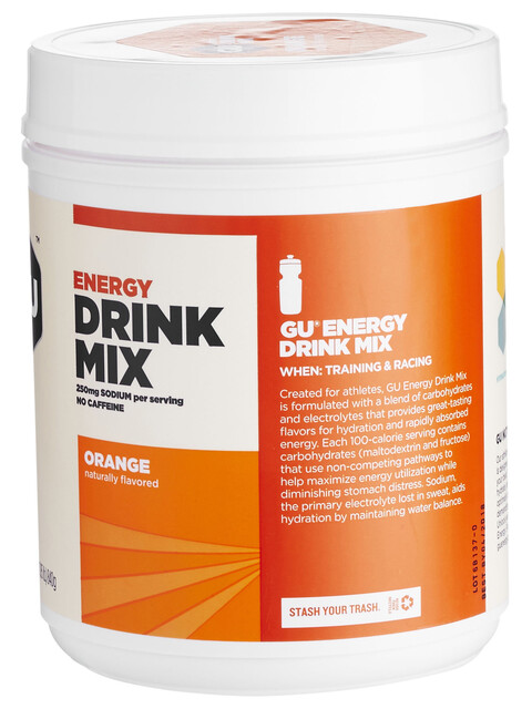 GU Energy Drink Mix Orange 840g